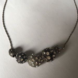 AEO Silver Beaded Necklace